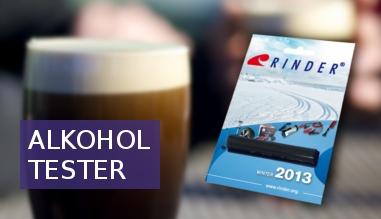 Bezpečný test na kontrolu alkoholu